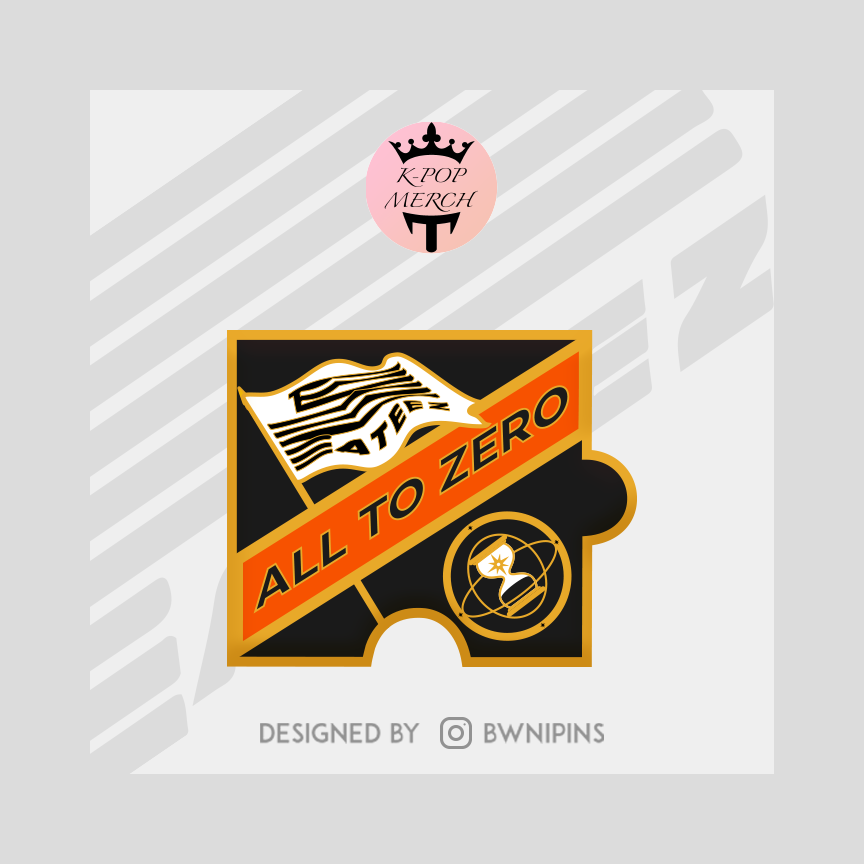 Ateez Treasure Episode 1 - All To Zero Enamel Pin