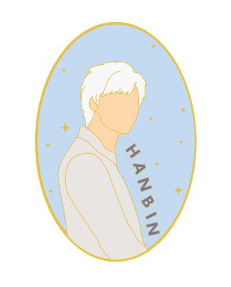 iKON Hanbin Enamel Pin