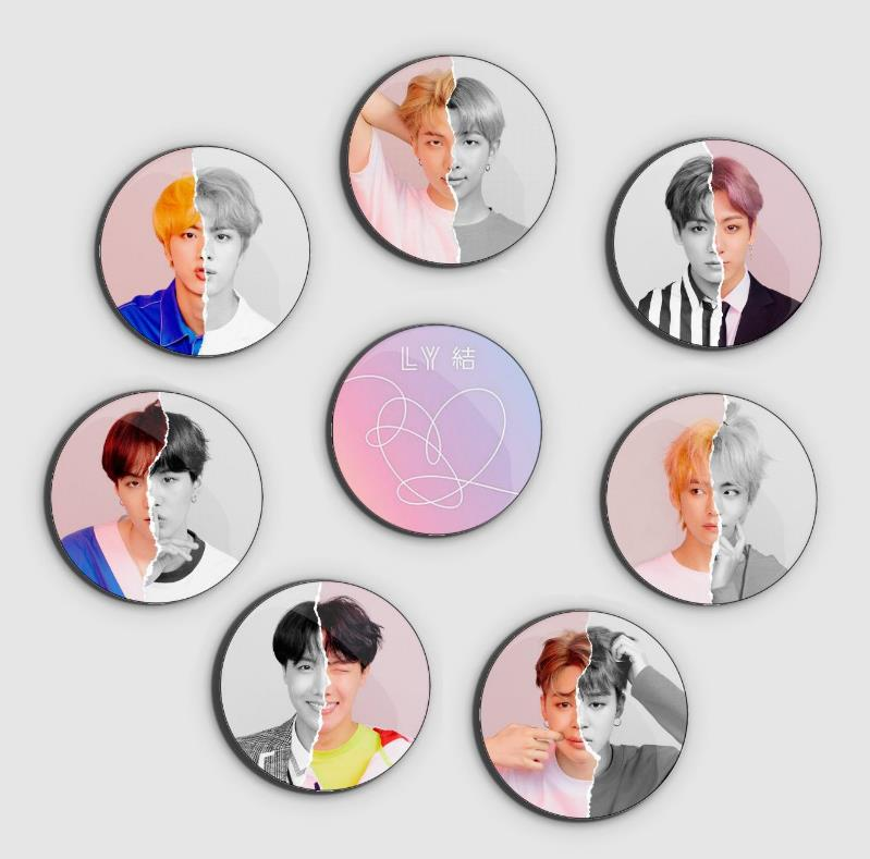 BTS Love Yourself Answer Badge Set