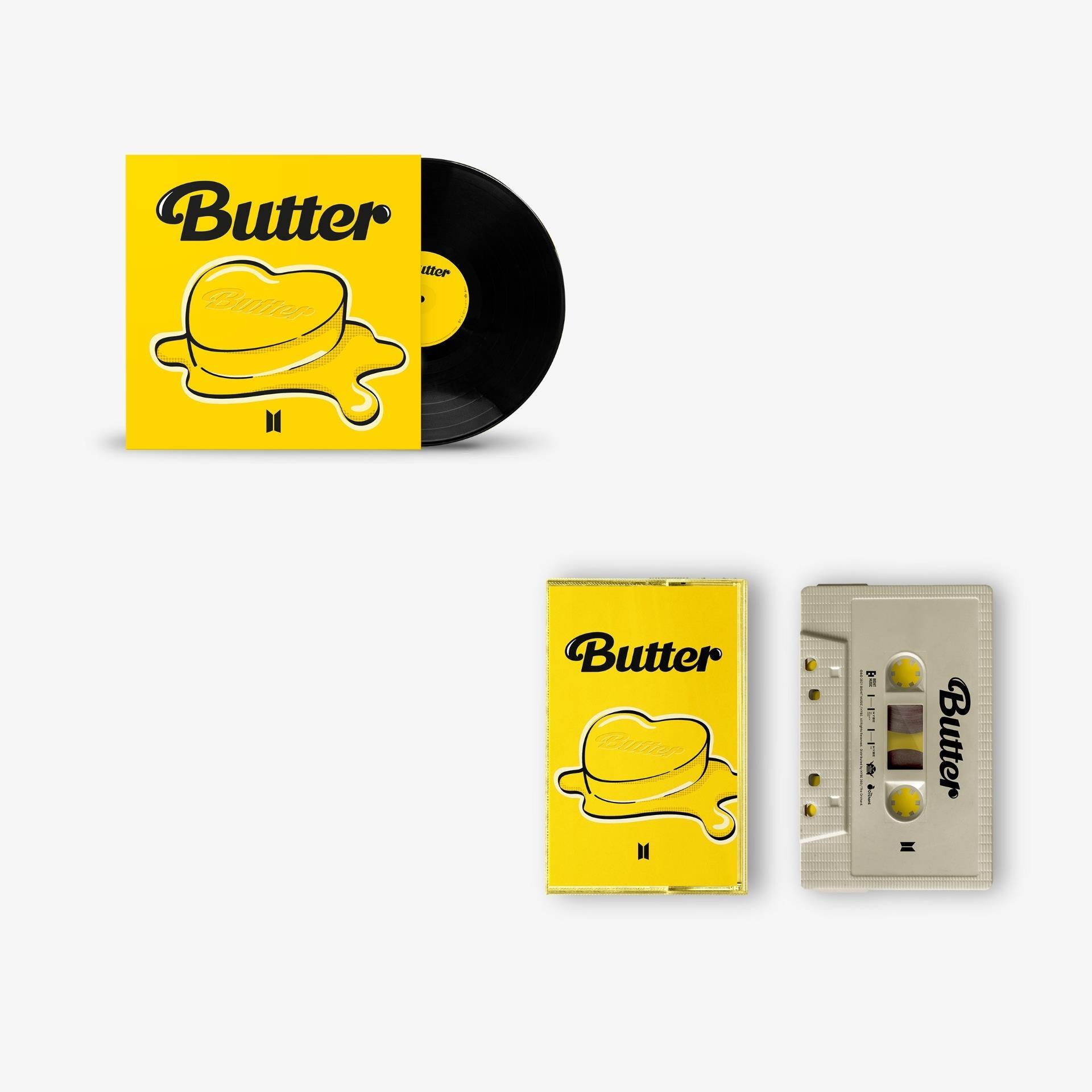BTS Butter Vinyl and Cassette set