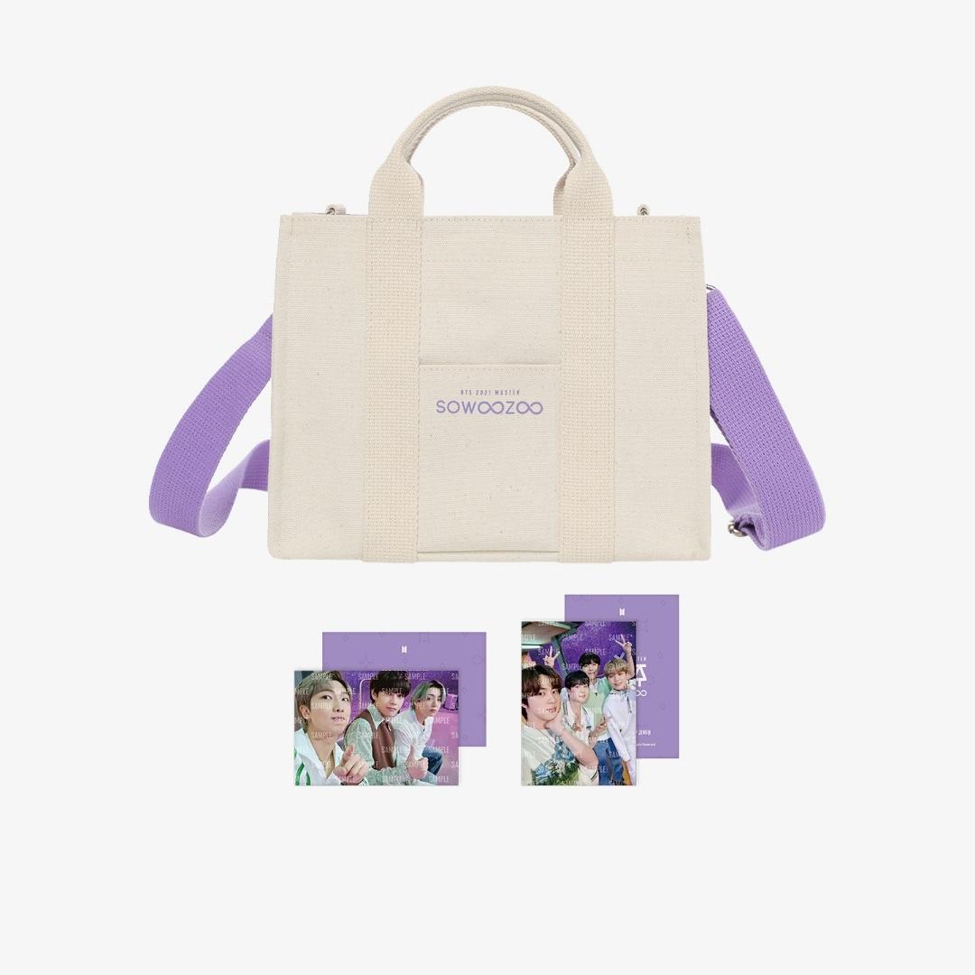 BTS SoWooZoo Mini Bag ivory