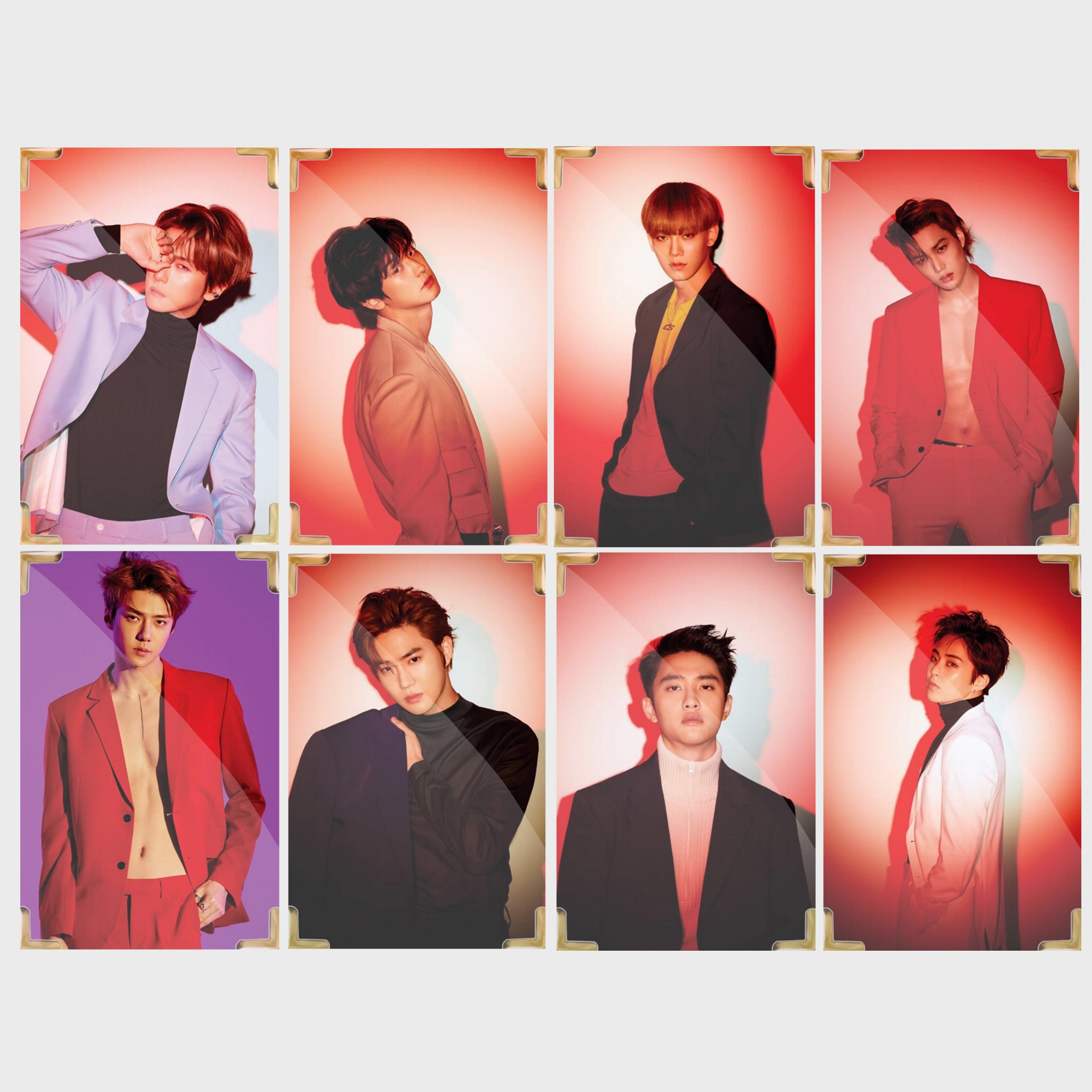 EXO Love Shot Member Premium Photo