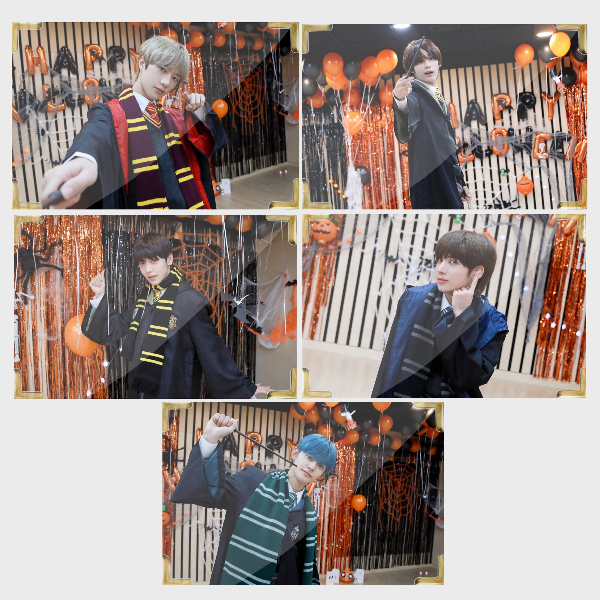 TXT Halloween Member Premium Photo